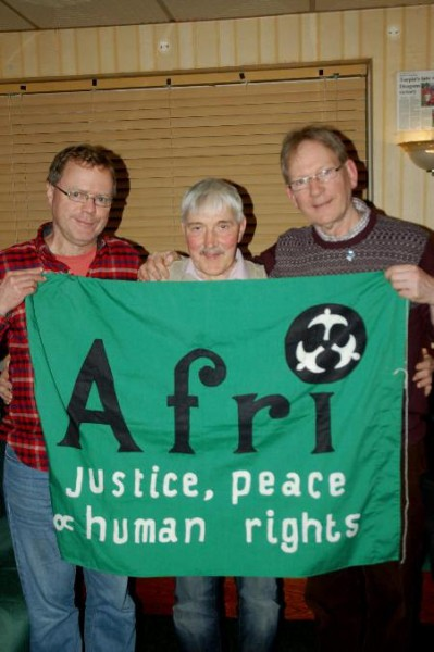 From Left to Right: Andy Storey (Afri), Kevin Fox and Joe Murray (Afri)