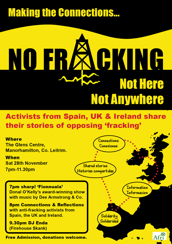 Poster no fracking web