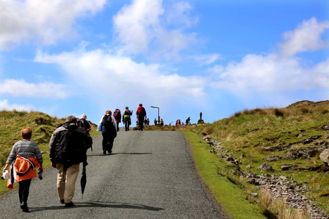 Afri Famine Walk 2016, Doolough, County Mayo. Photo by Derek Speirs