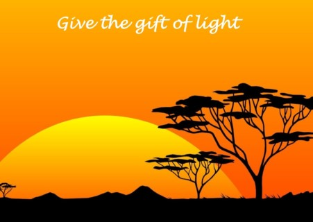 Give the gift of light