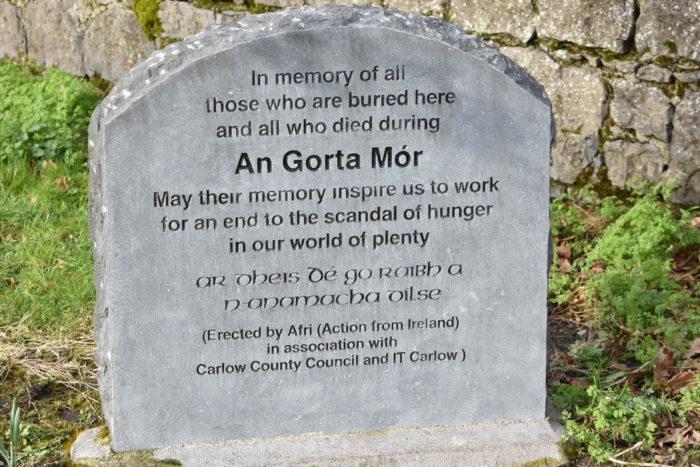 Carlow Famine Graveyard Memorial